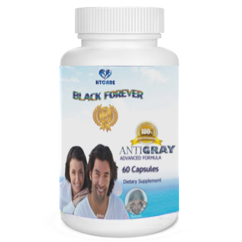 Black Forever Antigray and Hair Loss Advanced Formula USA Product